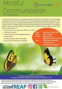 NVC for Educators Kerikeri flyer