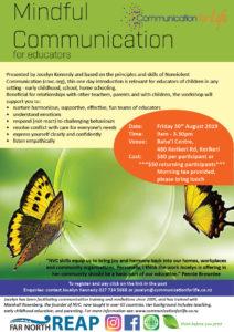 flyer NVC for educators Kerikeri